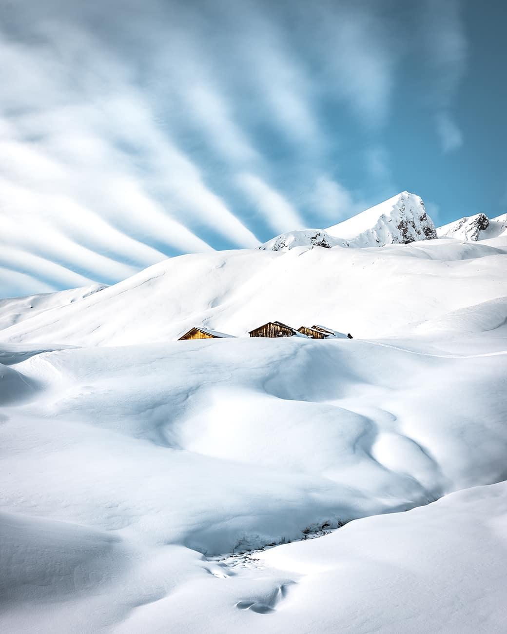 Grosse Scheidegg Schwarzwaldalp Winter