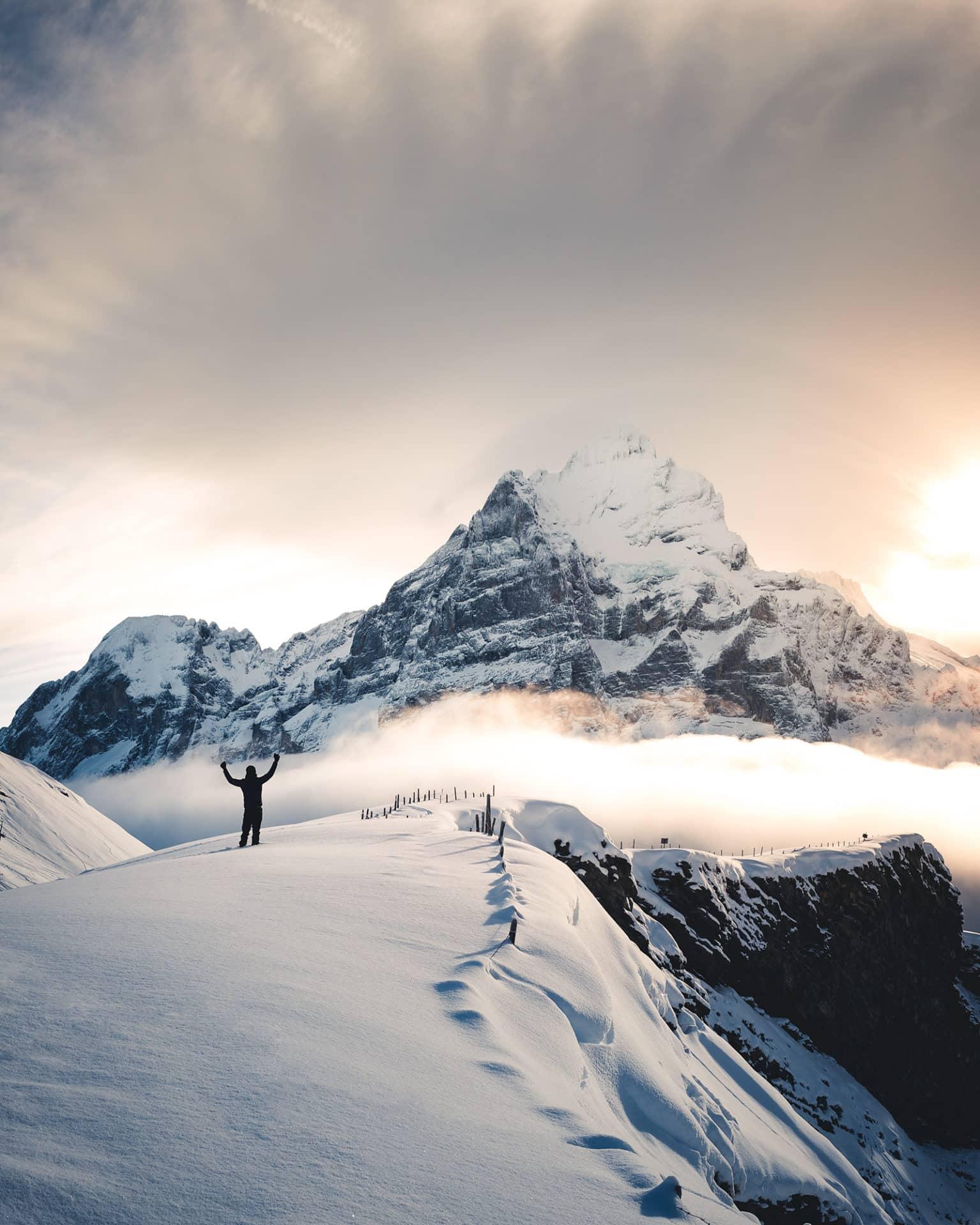 Grindelwald First Wetterhorn