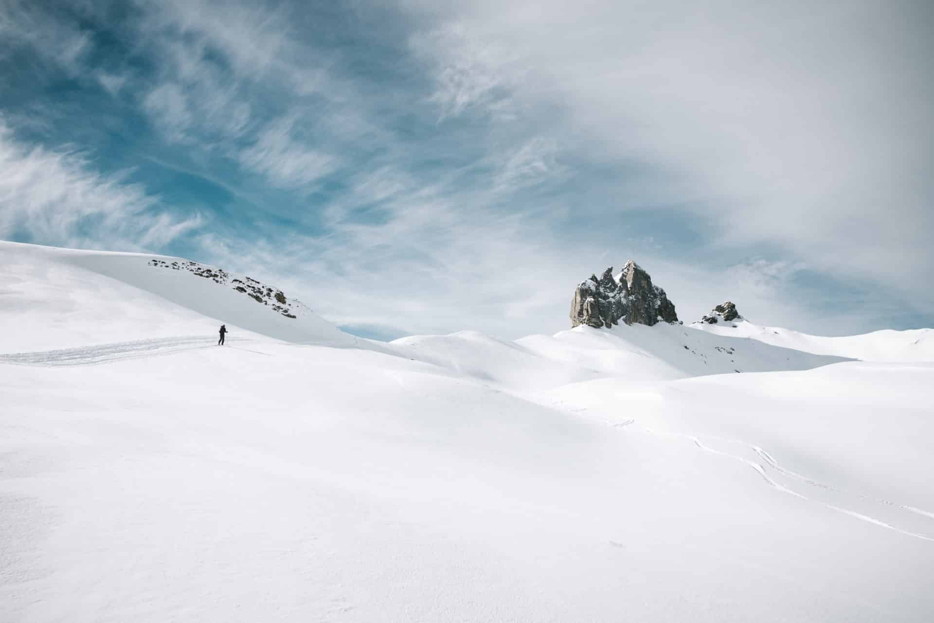 Lobhörner Winter Isenfluh