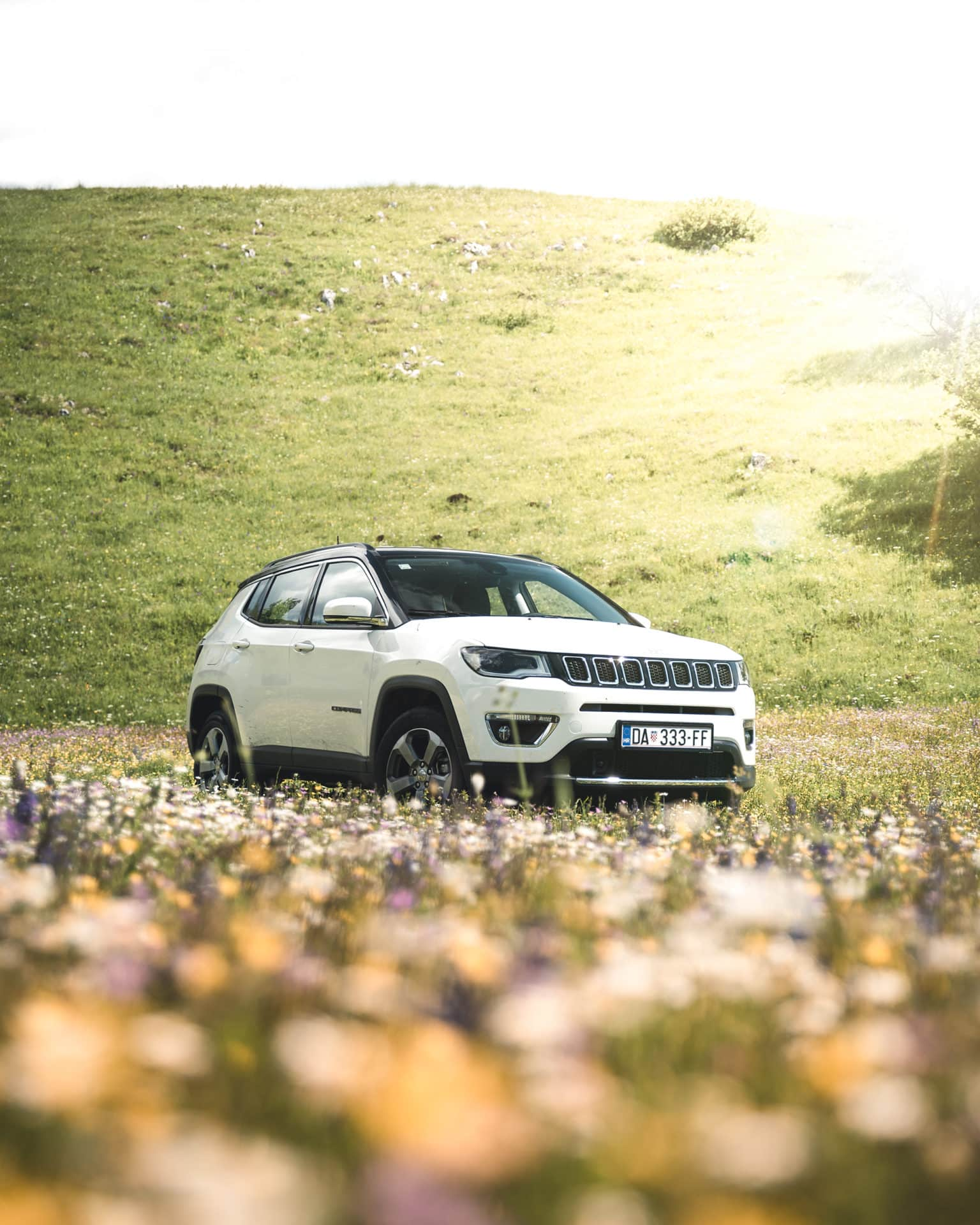 Jeep Compass Weiss