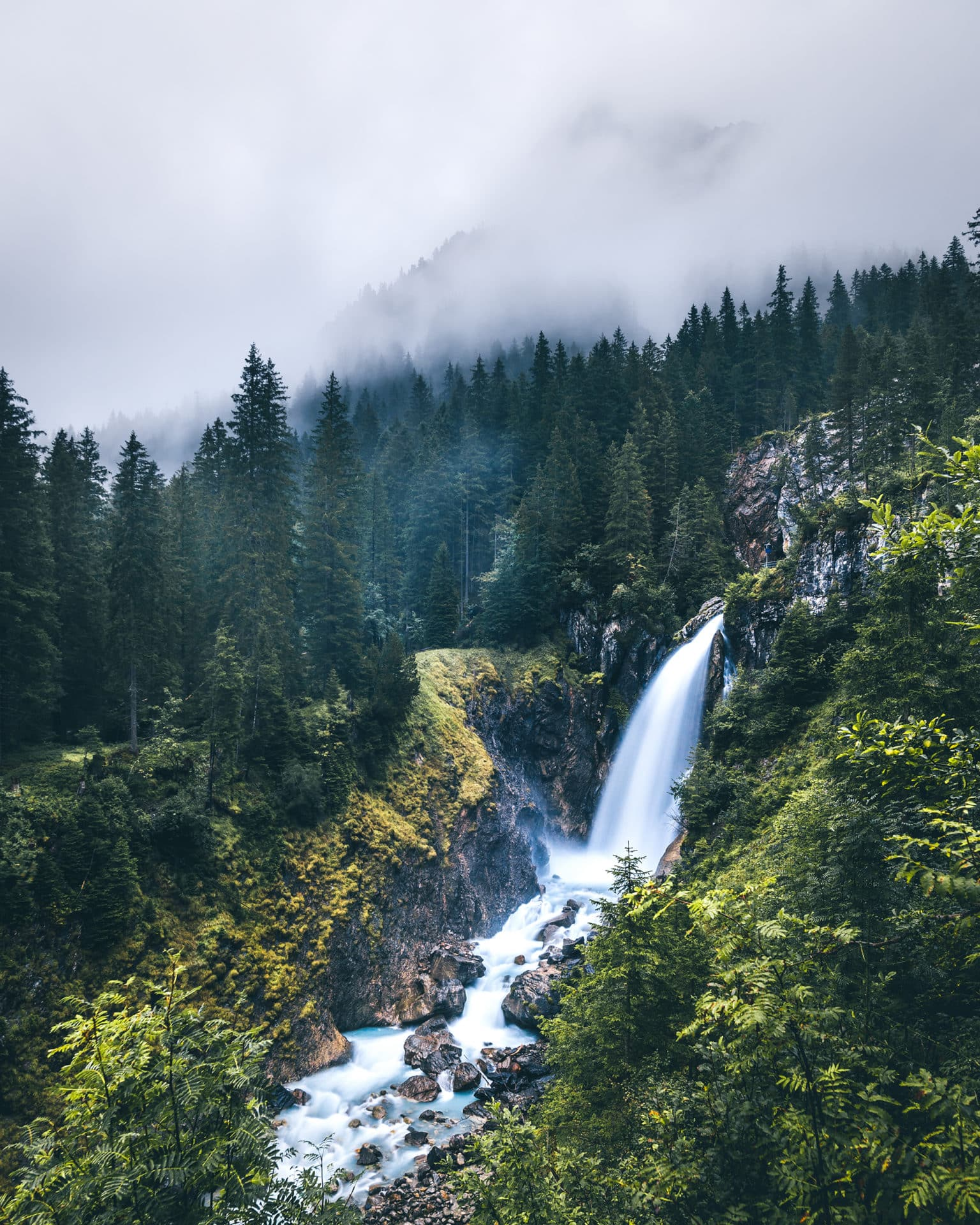 Wasserfall Rosenlaui