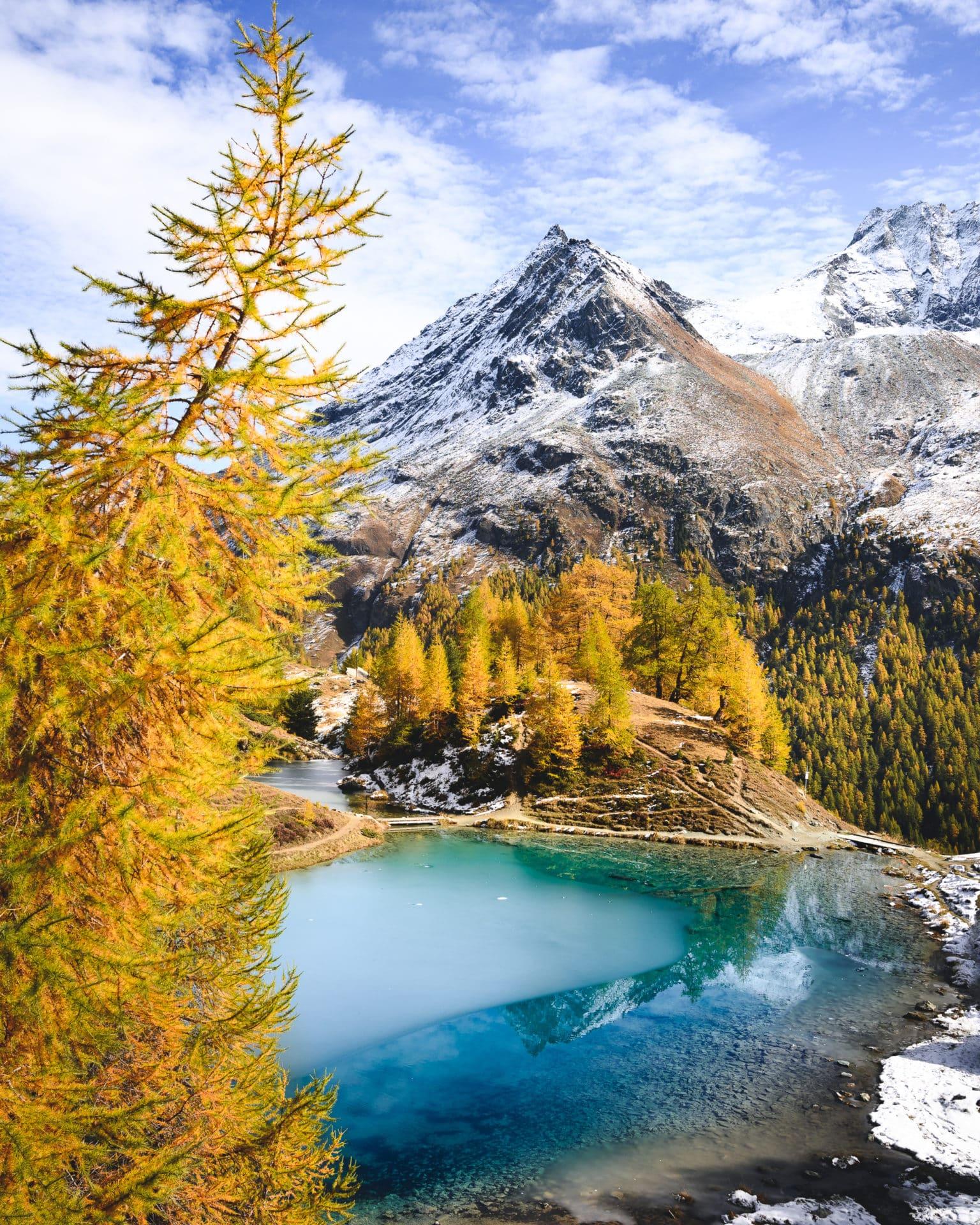 Lac Bleu Herbst