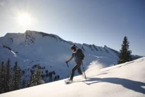 Winterwandern auf der Klewenalp