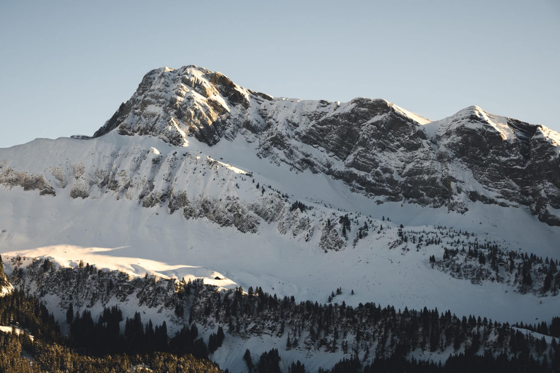 Klewenalp Stockhütte Winterwandern