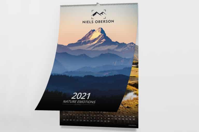 Wandkalender Schweiz 2021 Natur