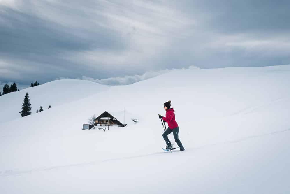 Sparenmoos Schneeschuhlaufen