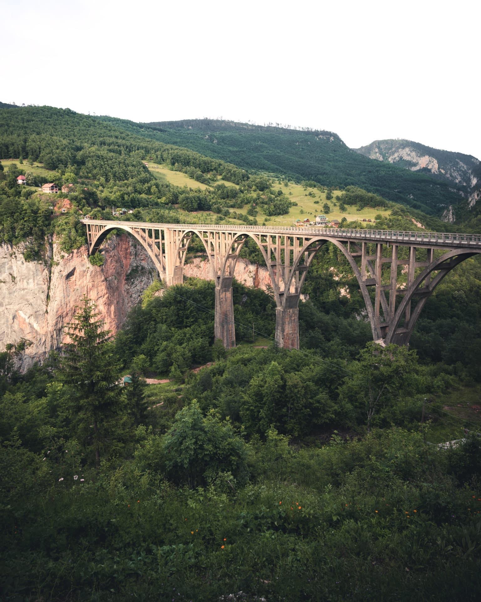 Đurđevića-Tara-Brücke Montenegro